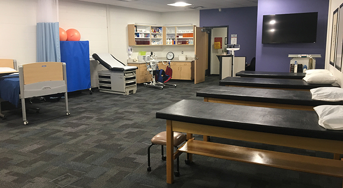 Health Science Academy lab