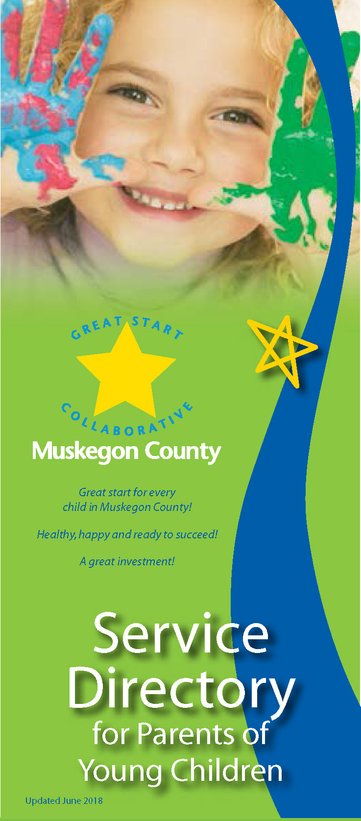 Young child.  Great Start of Muskegon County. Service Directory for Families with Young Children.